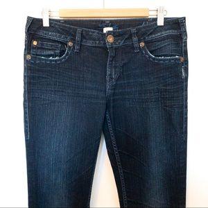 Silver Jeans Women Size 30x33 Aiko Slim Stretch